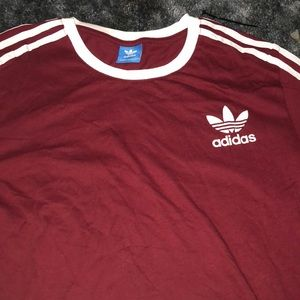 Maroon Adidas Shirt